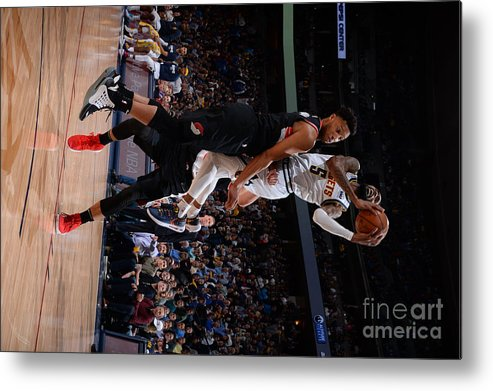 Playoffs Metal Print featuring the photograph Will Barton by Bart Young