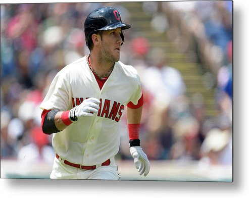 Second Inning Metal Print featuring the photograph Yan Gomes by Jason Miller