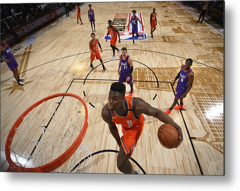 Nba Pro Basketball Metal Print featuring the photograph Zion Williamson by Jesse D. Garrabrant