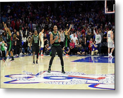 Playoffs Metal Print featuring the photograph Al Horford by Brian Babineau