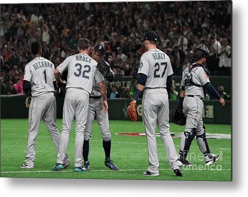 People Metal Print featuring the photograph Ichiro Suzuki by Masterpress
