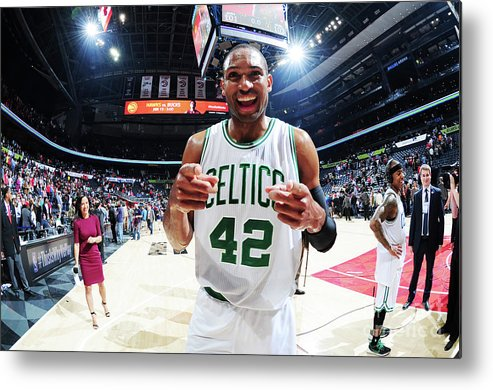 Atlanta Metal Print featuring the photograph Al Horford by Scott Cunningham