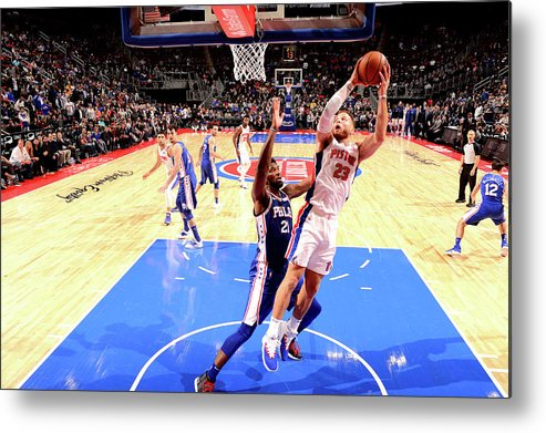 Nba Pro Basketball Metal Print featuring the photograph Blake Griffin by Chris Schwegler