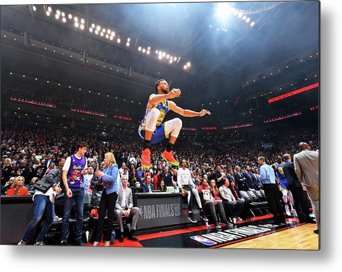 Playoffs Metal Print featuring the photograph Stephen Curry by Jesse D. Garrabrant
