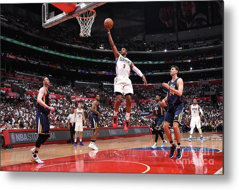 Playoffs Metal Print featuring the photograph Chris Paul by Andrew D. Bernstein
