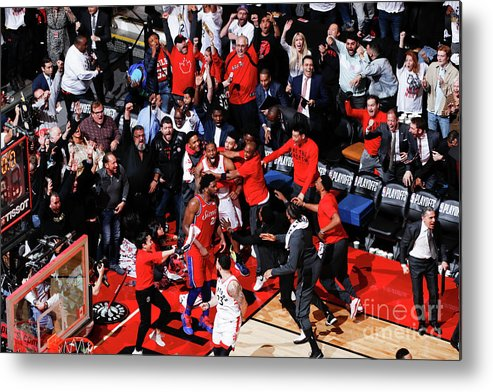 Playoffs Metal Print featuring the photograph Kawhi Leonard by Mark Blinch
