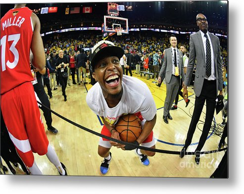 Playoffs Metal Print featuring the photograph Kyle Lowry by Jesse D. Garrabrant