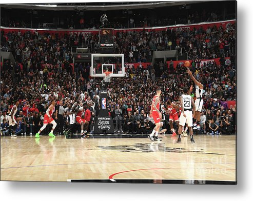 Nba Pro Basketball Metal Print featuring the photograph Kawhi Leonard by Andrew D. Bernstein