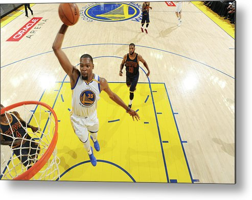 Playoffs Metal Print featuring the photograph Kevin Durant by Andrew D. Bernstein
