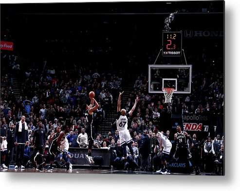 Nba Pro Basketball Metal Print featuring the photograph Spencer Dinwiddie by Nathaniel S. Butler
