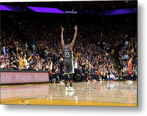 Nba Pro Basketball Metal Print featuring the photograph Draymond Green by Noah Graham