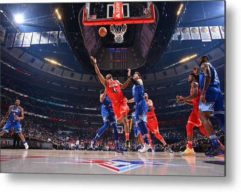 Nba Pro Basketball Metal Print featuring the photograph Kyle Lowry by Jesse D. Garrabrant