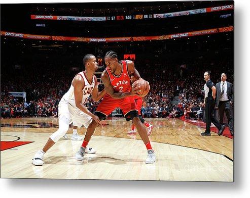 Nba Pro Basketball Metal Print featuring the photograph Kawhi Leonard by Mark Blinch
