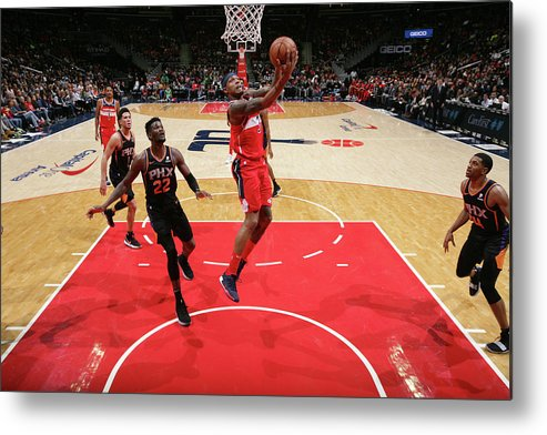 Nba Pro Basketball Metal Print featuring the photograph Bradley Beal by Ned Dishman