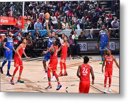 Nba Pro Basketball Metal Print featuring the photograph Kawhi Leonard by Jesse D. Garrabrant