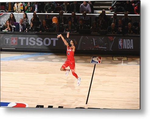 Nba Pro Basketball Metal Print featuring the photograph 69th NBA All-Star Game by Garrett Ellwood
