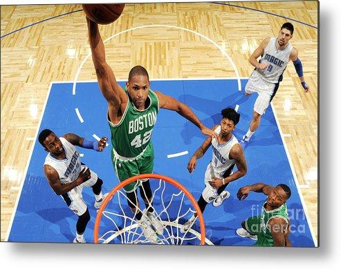 Nba Pro Basketball Metal Print featuring the photograph Al Horford by Fernando Medina