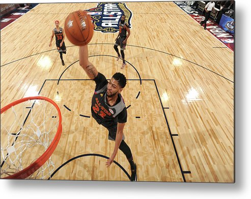 Event Metal Print featuring the photograph Anthony Davis by Andrew D. Bernstein