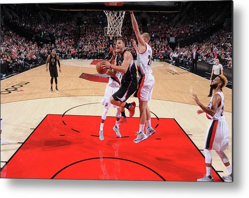 Nba Pro Basketball Metal Print featuring the photograph Blake Griffin by Sam Forencich