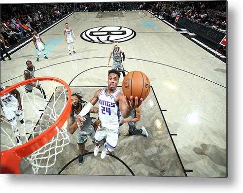 Nba Pro Basketball Metal Print featuring the photograph Buddy Hield by Nathaniel S. Butler