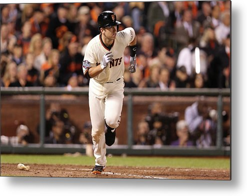San Francisco Metal Print featuring the photograph Buster Posey by Christian Petersen