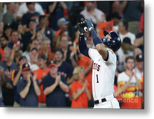 Game Two Metal Print featuring the photograph Carlos Correa by Elsa