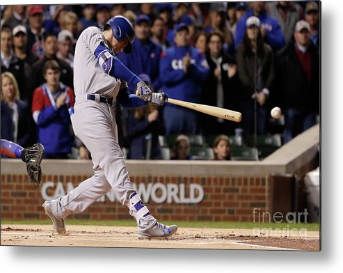 Championship Metal Print featuring the photograph Cody Bellinger by Jamie Squire
