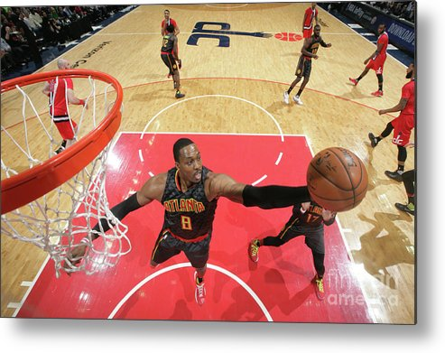 Nba Pro Basketball Metal Print featuring the photograph Dwight Howard by Ned Dishman