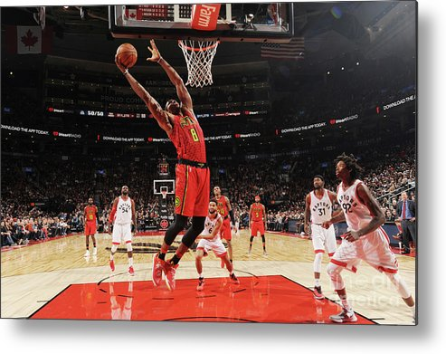 Nba Pro Basketball Metal Print featuring the photograph Dwight Howard by Ron Turenne