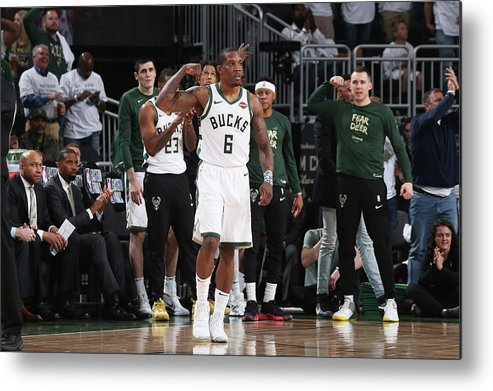 Playoffs Metal Print featuring the photograph Eric Bledsoe by Gary Dineen