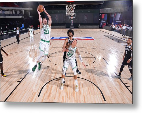 Nba Pro Basketball Metal Print featuring the photograph Gordon Hayward by Bill Baptist