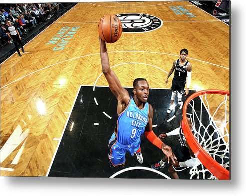 Nba Pro Basketball Metal Print featuring the photograph Jerami Grant by Nathaniel S. Butler