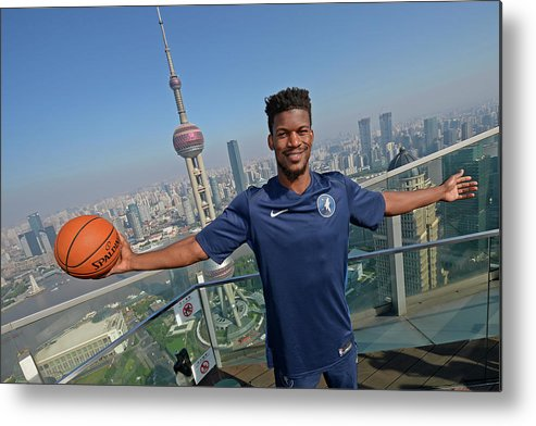 Event Metal Print featuring the photograph Jimmy Butler by David Dow