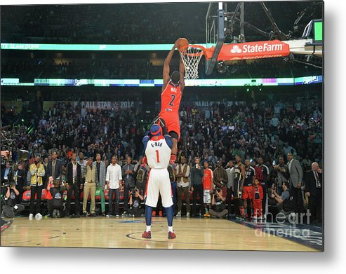 Smoothie King Center Metal Print featuring the photograph John Wall by Jesse D. Garrabrant