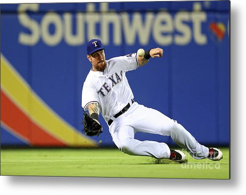 People Metal Print featuring the photograph Josh Hamilton by Sarah Crabill