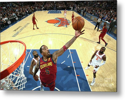 Nba Pro Basketball Metal Print featuring the photograph J.r. Smith by Nathaniel S. Butler