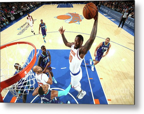 Nba Pro Basketball Metal Print featuring the photograph Julius Randle by Nathaniel S. Butler