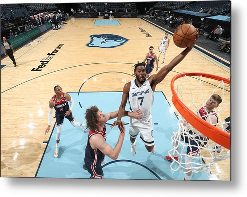 Justise Winslow Metal Print featuring the photograph Justise Winslow by Joe Murphy