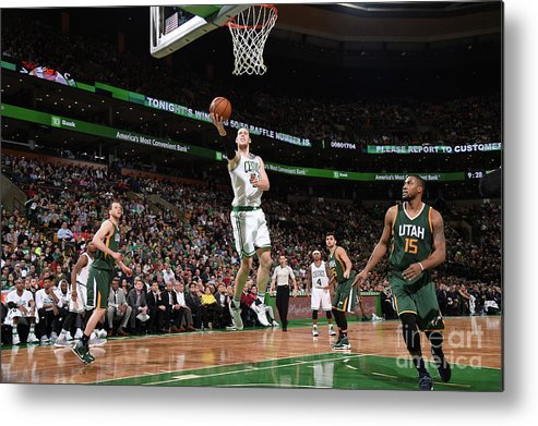 Nba Pro Basketball Metal Print featuring the photograph Kelly Olynyk by Brian Babineau