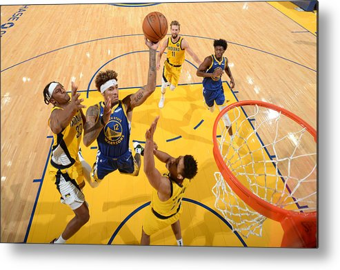 San Francisco Metal Print featuring the photograph Kelly Oubre by Noah Graham