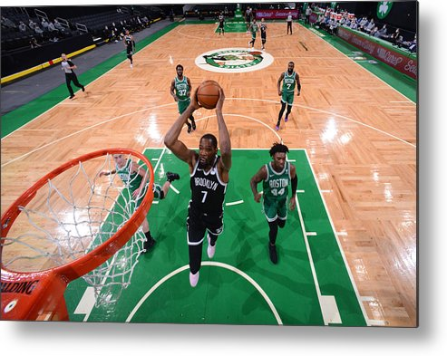 Nba Pro Basketball Metal Print featuring the photograph Kevin Durant by Brian Babineau