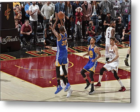 Playoffs Metal Print featuring the photograph Kevin Durant by David Liam Kyle