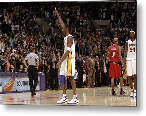 Nba Pro Basketball Metal Print featuring the photograph Kobe Bryant by Noah Graham