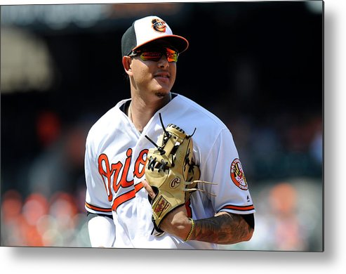 People Metal Print featuring the photograph Manny Machado by G Fiume