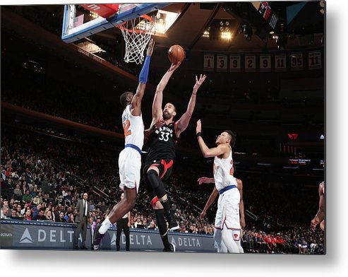 Nba Pro Basketball Metal Print featuring the photograph Marc Gasol by Nathaniel S. Butler