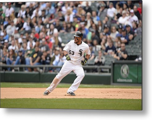 People Metal Print featuring the photograph Melky Cabrera by Ron Vesely
