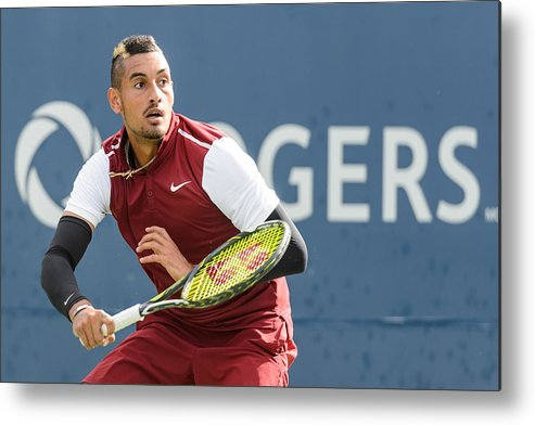 Tennis Metal Print featuring the photograph Rogers Cup Montreal - Day 4 by Minas Panagiotakis