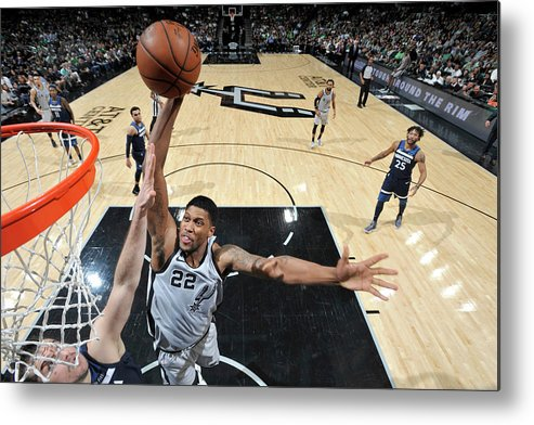 Nba Metal Print featuring the photograph Rudy Gay by Mark Sobhani