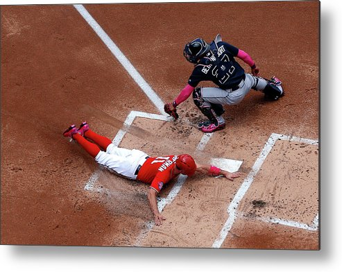 Baseball Catcher Metal Print featuring the photograph Ryan Zimmerman by Patrick Smith