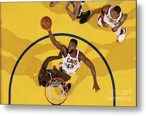 Playoffs Metal Print featuring the photograph Tristan Thompson by Nathaniel S. Butler